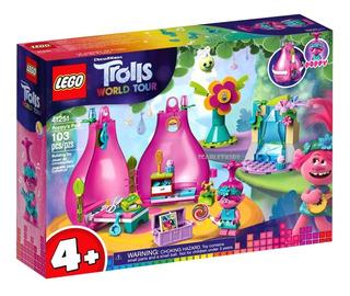 Lego Trolls Poppy Casa 41251 103 Piezas Original Scarlet