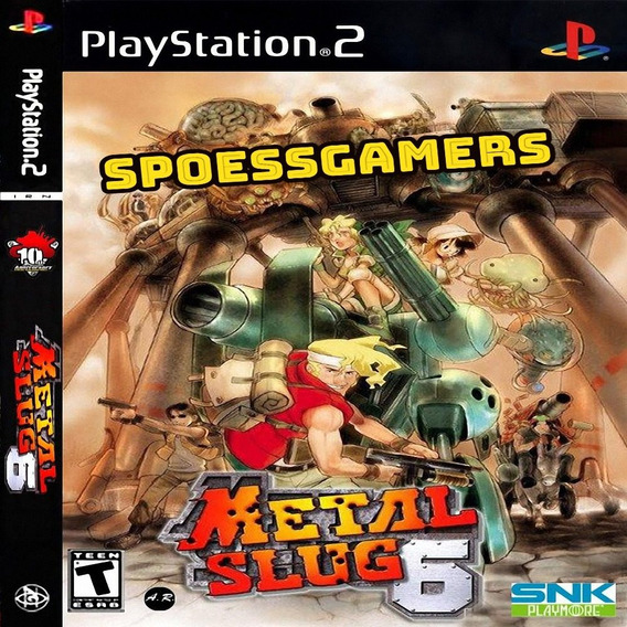 Metal Slug 6 Ps2 Desbloqueado Patch