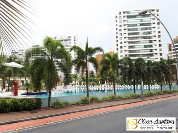 Apartamento 4/4 Vista Mar Le Parc Paralela Salvador - Ap00572 - 33586700