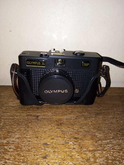 Máquina Fotográfica Olympus 35 Trip No Case Original