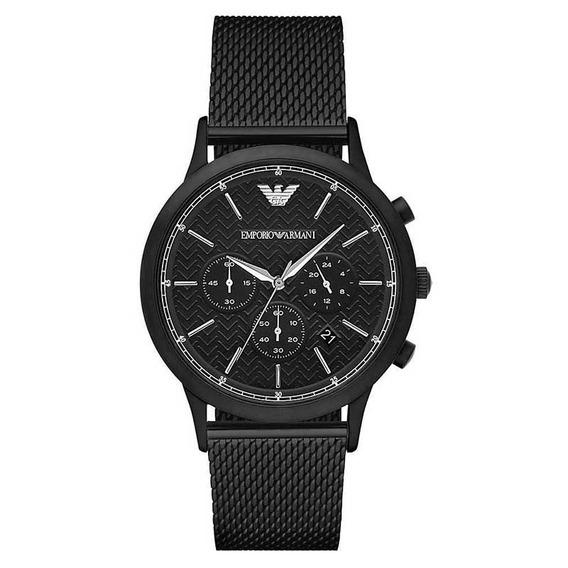 Reloj Análogo Marca Armani Modelo: Ar2498 Color Negro Para C