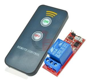 Control Remoto Activador Con Relevador 12v-124v Arduino