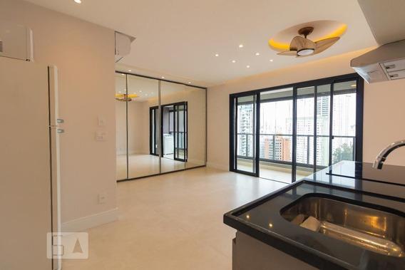 Studio No 21º Andar Com 1 Dormitório E 1 Garagem - Id: 892972445 - 272445