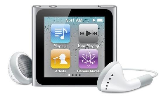 Apple iPod Nano 8gb Silver/prata 6a Geração Oferta!