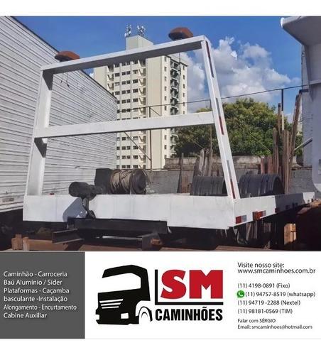 Plataforma Guincho 5,50m Caminhao 3/4