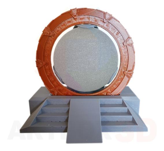 Suporte De Mesa Geek Stargate Para Google Home Mini Nest