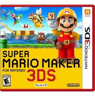 Super Mario Maker 3ds ( Sellado ) Envíos Grátis A Todo Chile
