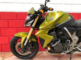 Honda Cb 1000r Abs - 2012 - Verde - Financiamos - Km 23.000