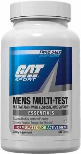 Gat Sport Mens Multi Test 60 Tabs Multivitaminico