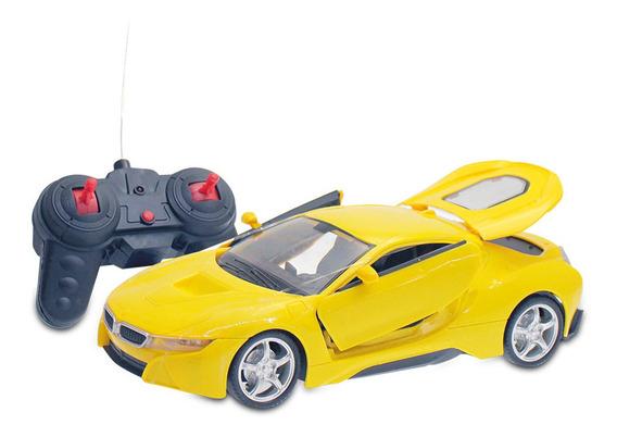 Auto De Carrera 1:16 A Control Remoto Y Puertas Móviles