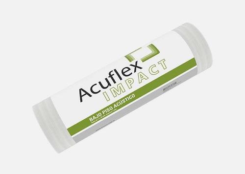 Aislante Acústico Acuflex Impact Amortiguante Para Pisos 20m