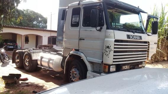 Scania 113 360 6x2 Trucada Ano 1995 Motor Novo