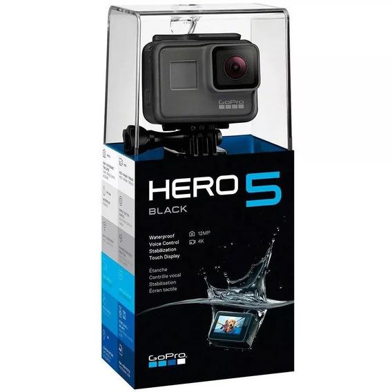 Gopro Hero 5 Black Original Novo Na Caixa Com Nf-e
