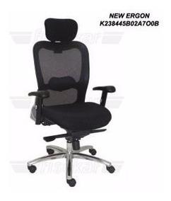 Cadeira Poltrona Presidente Modelo New Ergon Tela - (nova)