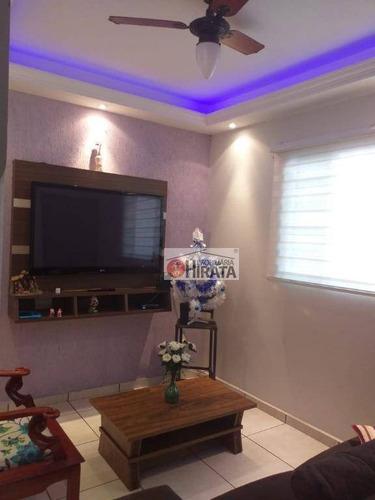 Casa Com 2 Dormitórios À Venda, 75 M² Por R$ 305.000,00 - Jardim Mirassol - Campinas/sp - Ca1543