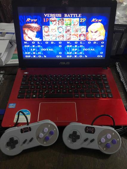 Coletânea Jogos Nintendo-2 Controles E Pen Drive Com Jogos