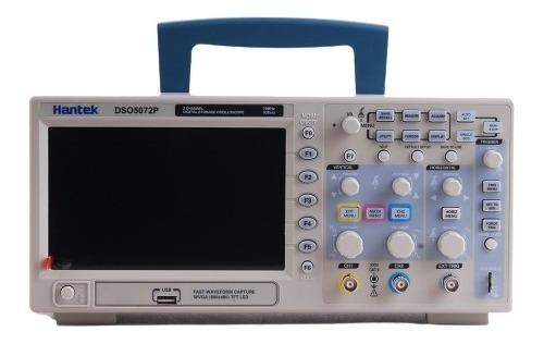 Osciloscopio Digital Hantek Dso5072p 70 Mhz De Ancho De Band