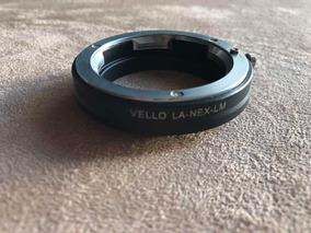 Adaptador Vello Leica M Para Sony E Mount