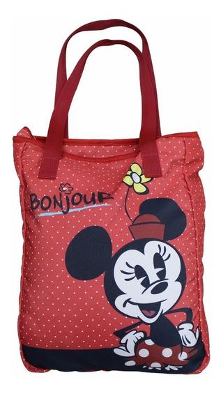 Bolsa Lateral Minnie Disney Oficial Licenciada Minie Mickey!