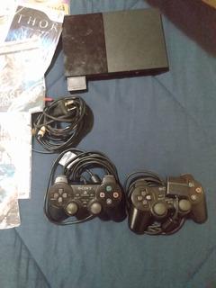 Play 2 Funcionando, 2 Controles, Memory Más 105 Juegos