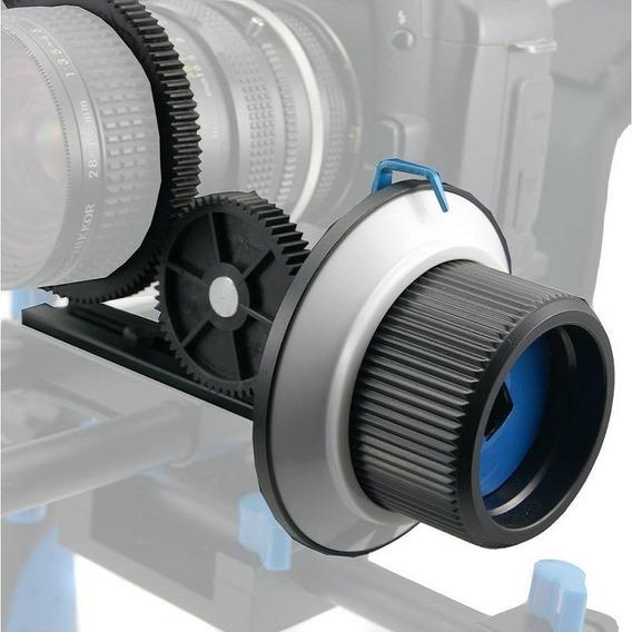 Follow Focus F1 Com Engragem Alumínio Canon Sony Nikon Lumix