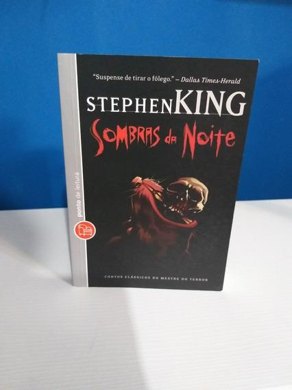 Livro Sombras Da Noite Stephen King Bolso Ponto De Leitura