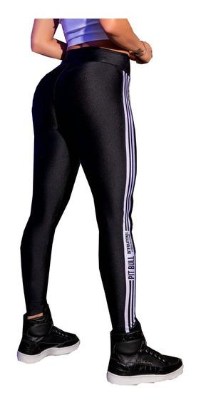 Calça Legging Fitness Pit Bull Jeans - Roupa De Academia