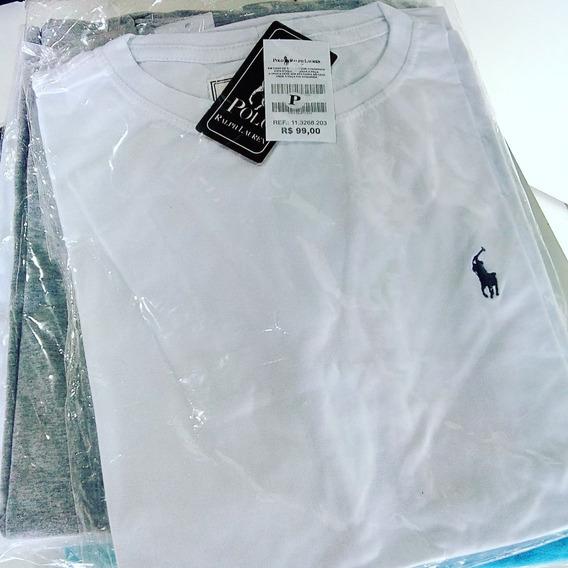 Atacado Kit 70 T-shirt Masculino Várias Marcas Frete Grátis