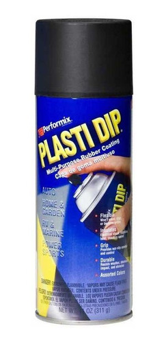 Plasti Dip Pintura En Spray Negro Original