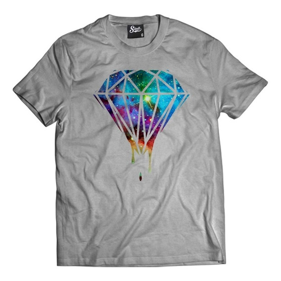 Camisa Masculina Diamante Galaxy Camiseta Diamond Kings Mcd