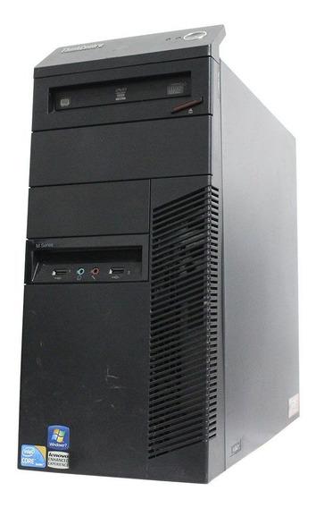 Computador Desktop Lenovo Thinkcenter M90 I3 4gb 120ssd