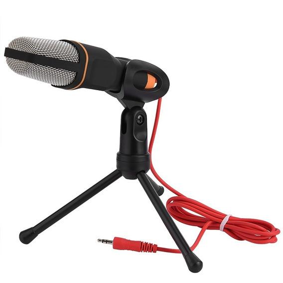 Micrófono Condensador Profesional Pc, Smartphone, Skype, Yt