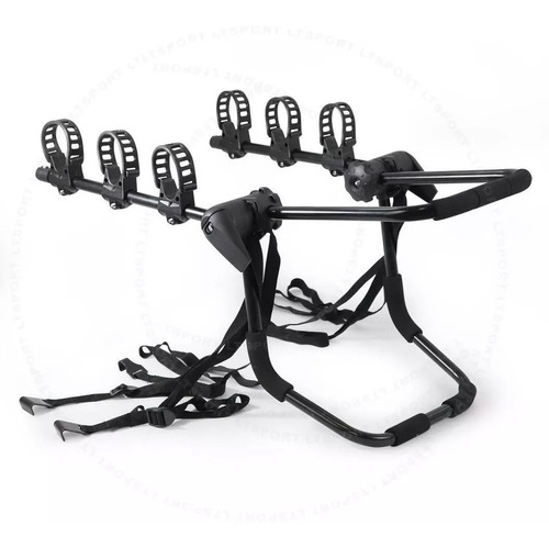 Imagen 1 de 8 de Porta Bicicleta Baul 3 Bicicletas Auto Universal Reforzado
