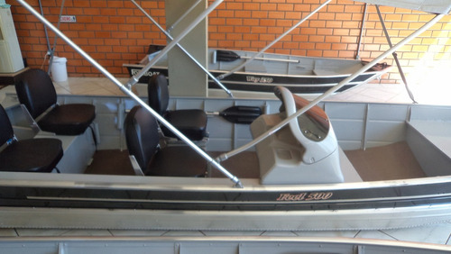 Imagem 1 de 4 de Casco Lancha De Alumínio Fortboat Feel 500 Semi Chato