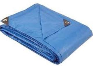 Paq 2pzs Lona Polietileno Multiusos Azul 10
