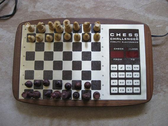 Juego De Ajedrezelectronico Chess Challenger