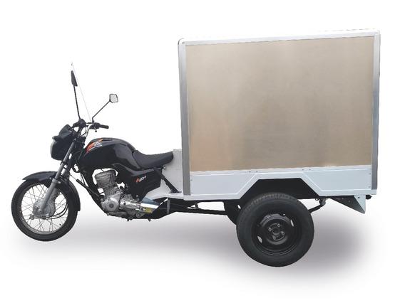 Triciclo Fusco Motosegura Baú Básico 160cc 2020 300kg