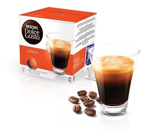Cápsulas Dolce Gusto Nescafé - Café Lungo