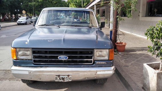 Camioneta Ford F-100 Xlt C/a.a. Motor Perkins 4