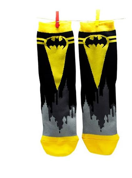 Medias Largas Batman Dc Licencia Oficial