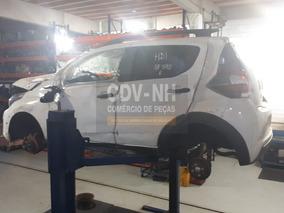 Sucata Fiat Mobi Way 2017/18 1.0 75cv Flex