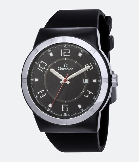 Relógio Masculino Champion Ca31597p Esportivo Black