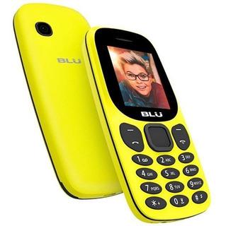 Celular Blu Jenny J050 Tela 1.8 Amarelo