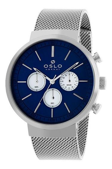 Relógio Oslo Masculino Ombsscvd0001 P1sx