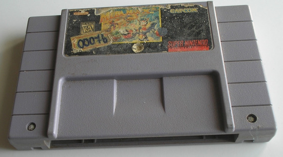 Mega Man X3 Super Nintendo Original Usada