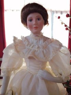 Linda Muñeca De Porcelana Classic Bride Of The Century. 1990