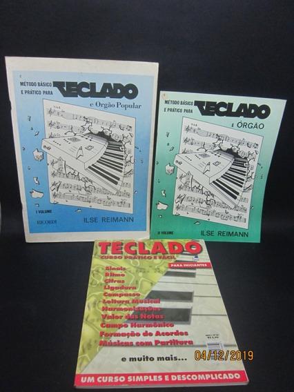 Coleção Série Método Básico Para Teclado E Órgã Curso ...