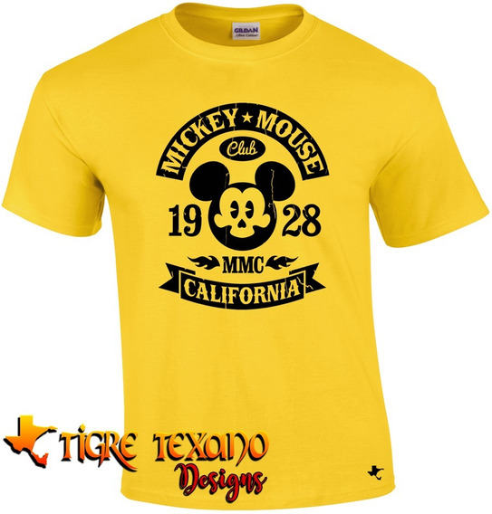 Playera Mickey Mouse Mod.02 By Tigre Texano Designs