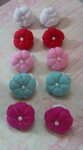 Coleros Moños Y Florcitas. Todos Los Colores. En 3 Tamaños