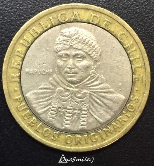 Onesmile:) Moneda Chile 100 Pesos Año 2006 Bimetálica Km#236